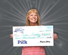 Arizona Lottery Winner Debbie Eaton