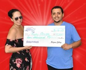 Arizona Lottery Winner Rudy Acosta