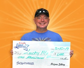 Arizona Lottery Winner Lucky Me!!