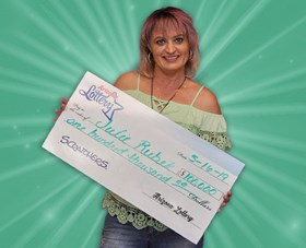 Arizona Lottery Winner Julie Rubek