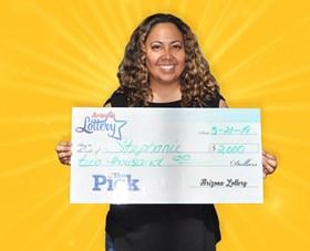 Arizona Lottery Winner Stephanie