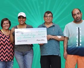 Arizona Lottery Winner Abigail Arroyo