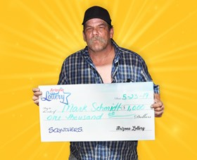 Arizona Lottery Winner Mark Schmidt