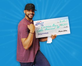 Arizona Lottery Winner Dominic Henry