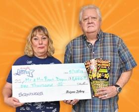 Arizona Lottery Winner Mr. & Mrs. Robert Degnan