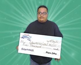 Arizona Lottery Winner Lawrence Leal