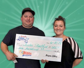 Arizona Lottery Winner Justin Stratford