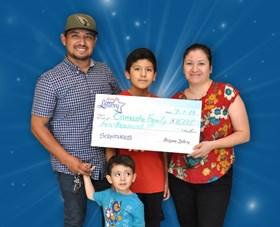 Arizona Lottery Winner Camacho Family