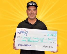 Arizona Lottery Winner George Lockwood
