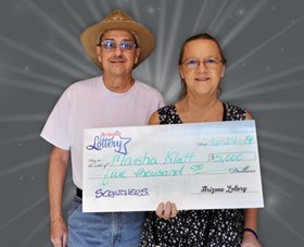Arizona Lottery Winner Marsha Klatt