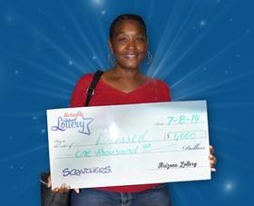 Arizona Lottery Winner Blessed