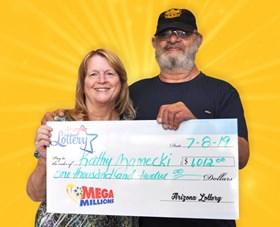 Arizona Lottery Winner Kathy Zamecki