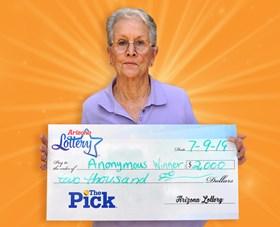Arizona Lottery Winner Anonymous Winner