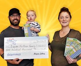 Arizona Lottery Winner Lujan-Kettner Family