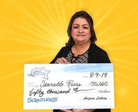 Arizona Lottery Winner Jeanette Rosas