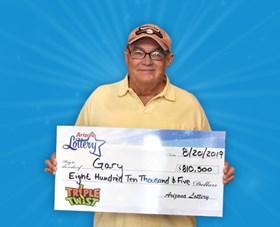 Arizona Lottery Winner Gary