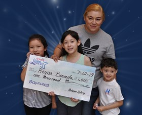Arizona Lottery Winner Reyna Breceda