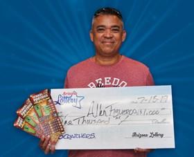 Arizona Lottery Winner Allen Figueroa