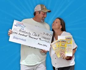 Arizona Lottery Winner Kimberly Clark