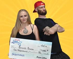 Arizona Lottery Winner Amanda Acosta