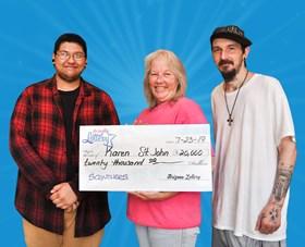 Arizona Lottery Winner Karen St. John