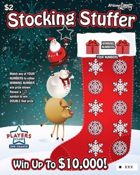 Stocking Stuffer 1238 Arizona Lottery