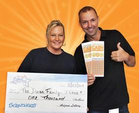 Arizona Lottery Winner The Doran Family