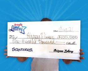 Arizona Lottery Winner Happy Winner