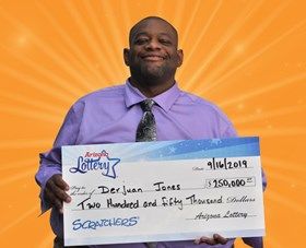 Arizona Lottery Winner Derjuan Jones