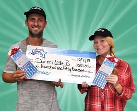 Arizona Lottery Winner Dexter & Leslie B.