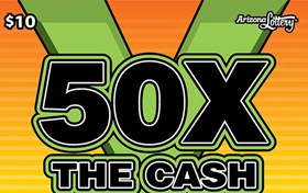 50X the Cash Logo
