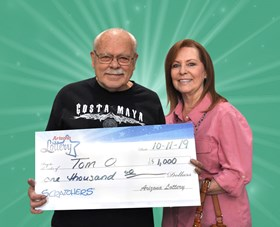 Arizona Lottery Winner Tom O.