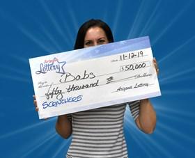 Arizona Lottery Winner Babs