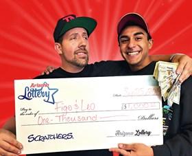 Arizona Lottery Winner Figo & Leo