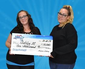 Arizona Lottery Winner Ashley M.
