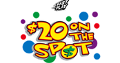 $20 on the Spot Logo