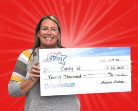 Arizona Lottery Winner Candy W.