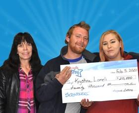 Arizona Lottery Winner Krystina Lomeli