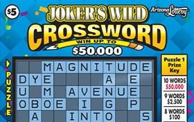 Joker's Wild Crossword Logo
