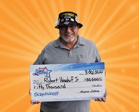 Arizona Lottery Winner Robert Woodruff Jr.