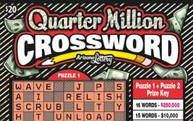Quarter Million Crossword Logo
