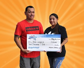 Arizona Lottery Winner Rene Longoria