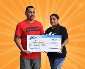 Arizona Lottery Winner Rene Longoria