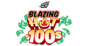 Blazing Hot $100s Logo