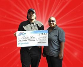 Arizona Lottery Winner Tamara Kelley