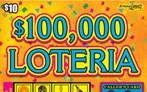 $100,000 Loteria Logo