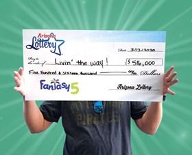 Arizona Lottery Winner Livin' The Way