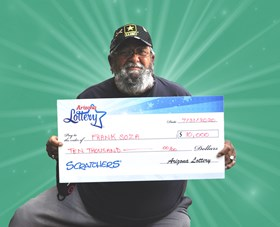 Arizona Lottery Winner Frank Soza