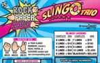 Rock Paper Scissors® Slingo® Trio Logo