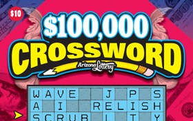 $100,000 Crossword Logo